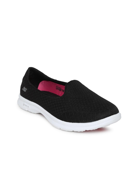 Skechers Women Black GO Step Walking Shoes image