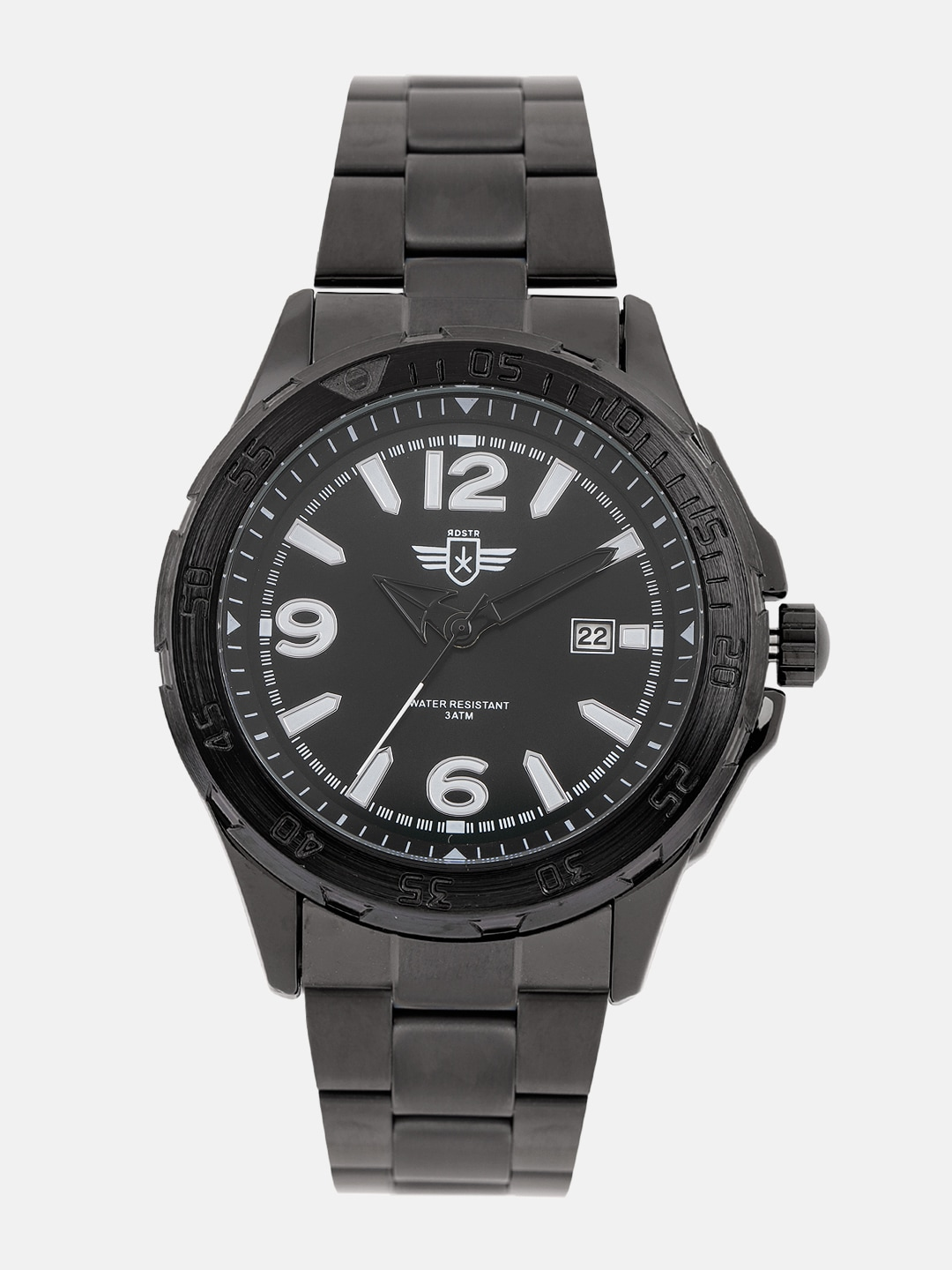 Roadster Men Black Analogue Watch image