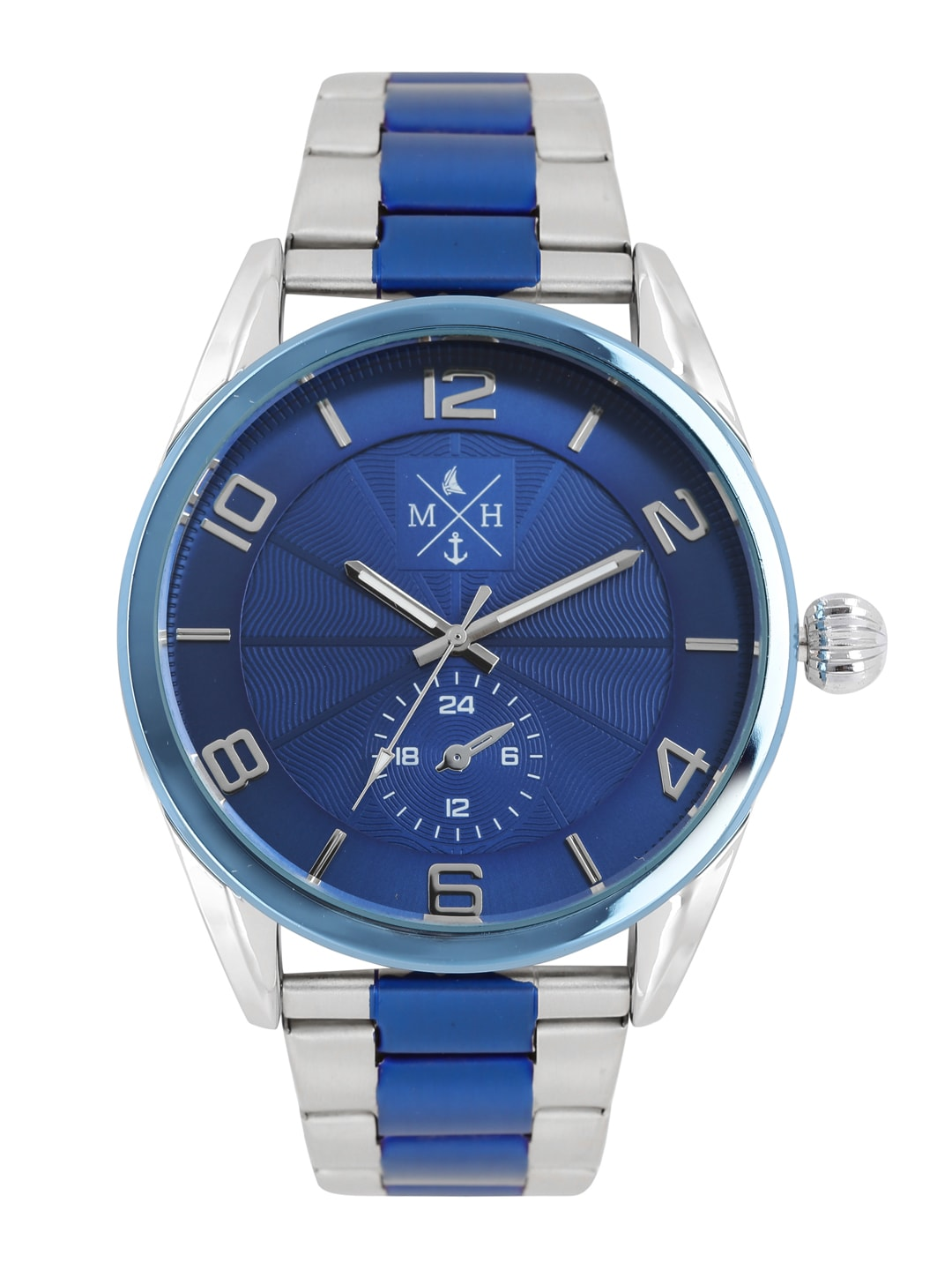 Mast & Harbour Men Blue Analogue Watch MFB-PN-HP-3914 image