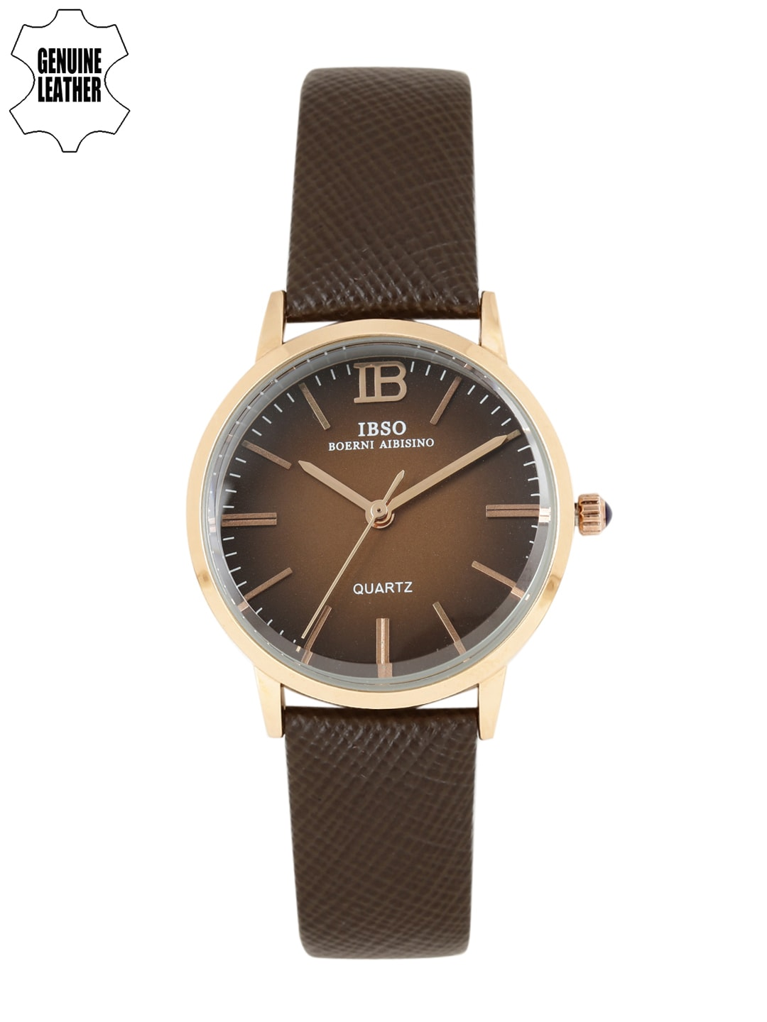 IBSO Women Brown Analogue Watch S3803LBR image