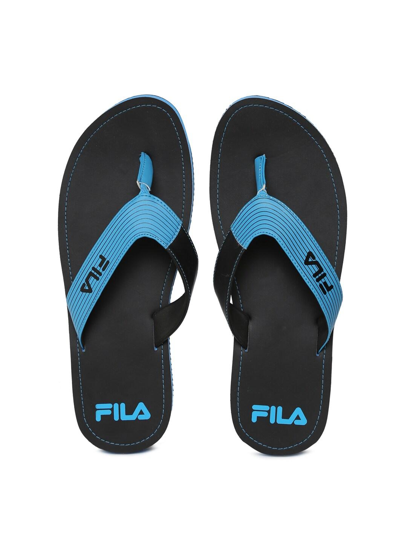 FILA Men Black & Blue SELECT Flip-Flops image
