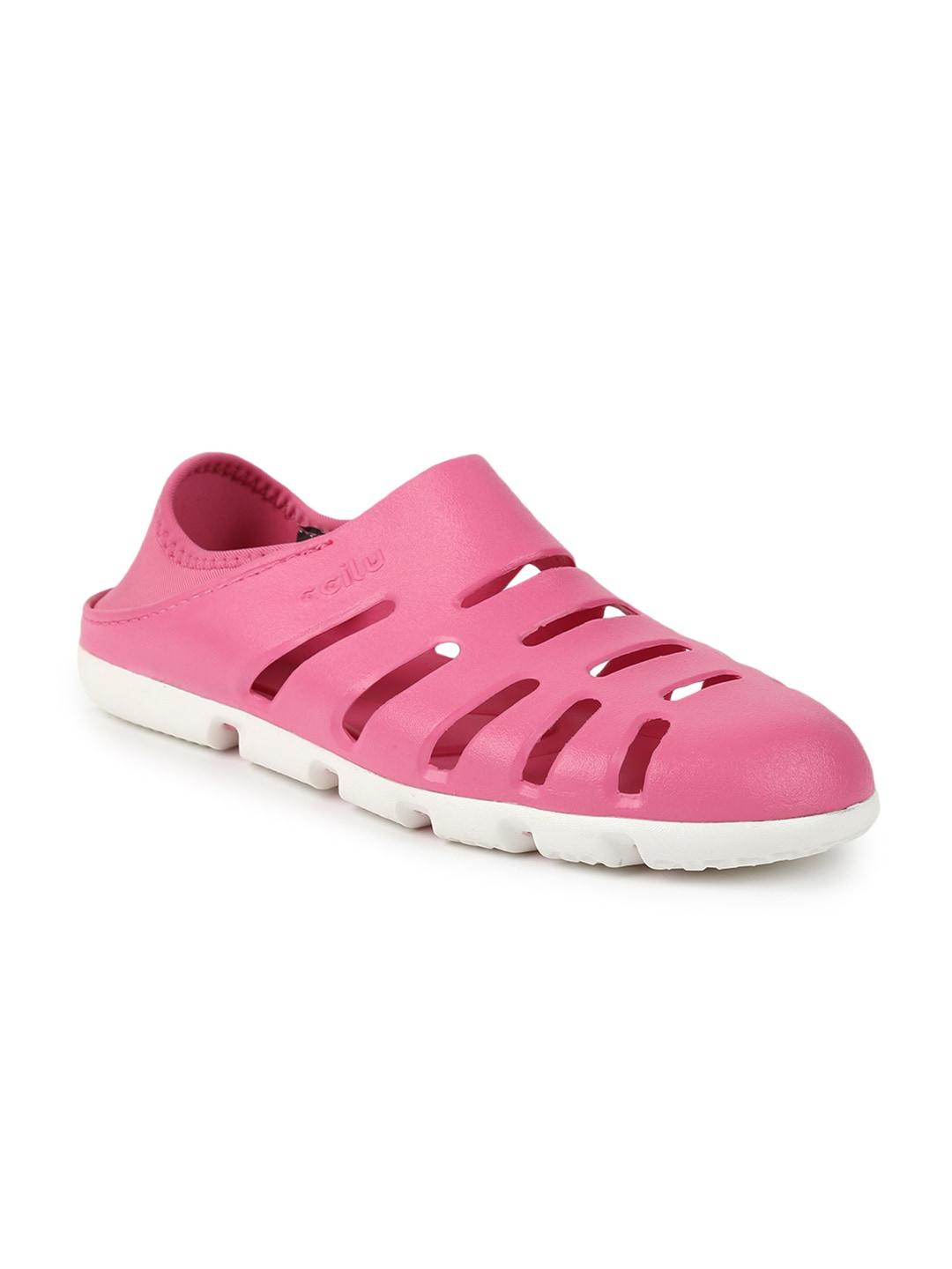 CCILU Women Pink Slip-On Sneakers image