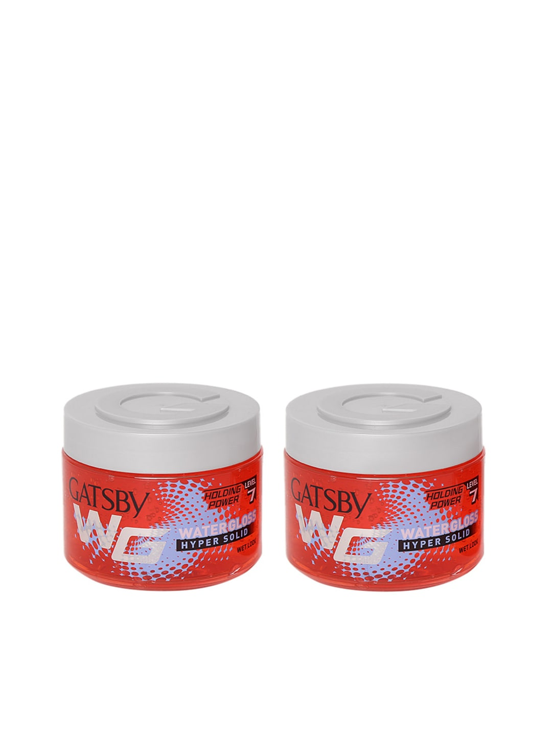Gatsby Men Set of 2 Water Gloss Hyper Solid Hair Wax image