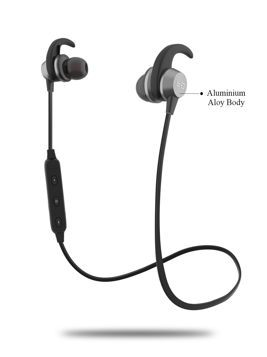 Buy Boult Grey Space Wireless Bluetooth Earphones At Best Price in India