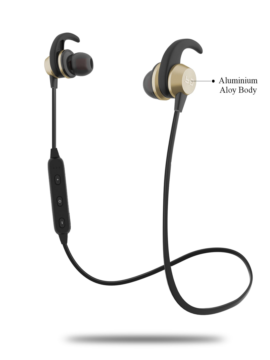 Buy Boult Gold-Toned Space Wireless Bluetooth Earphones At Best Price In India