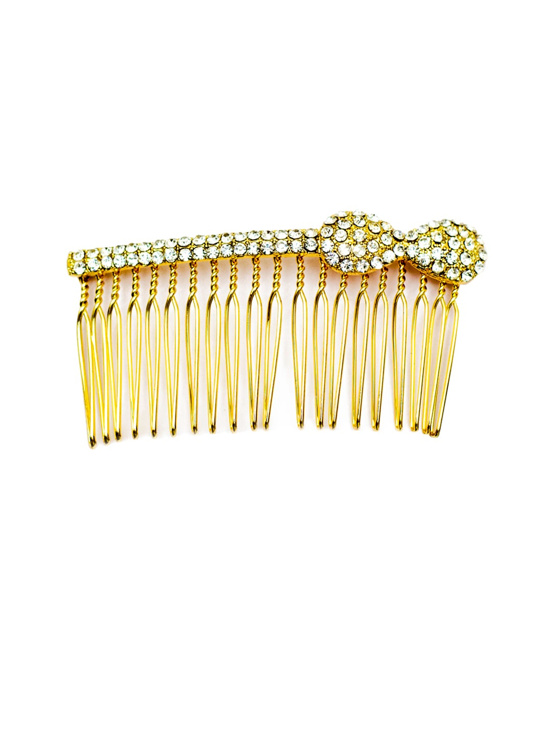 Elite Models (France) Gold Designer Hair Jewellery Comb image