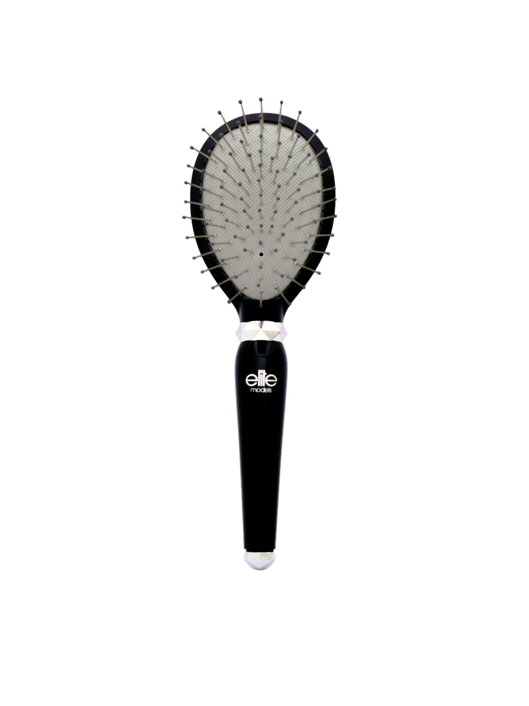 Elite Models (France) Black Purse Hair Brush image