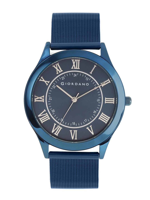 GIORDANO Men Navy Blue Analogue Watch image