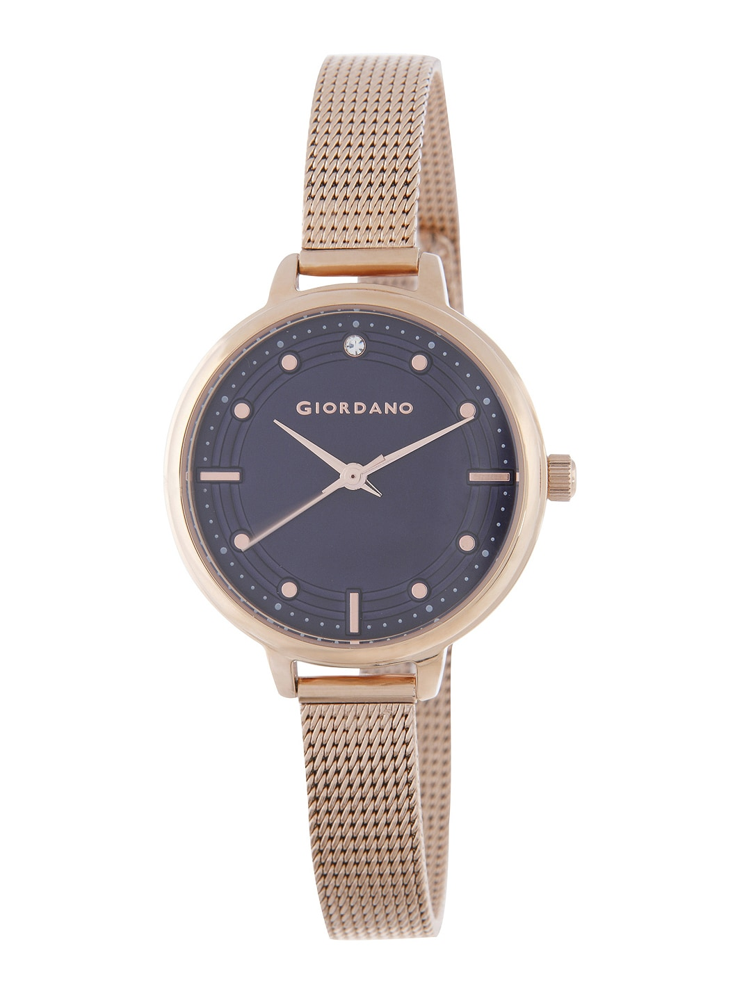 GIORDANO Women Navy Blue Analogue Watch 2872-66 image