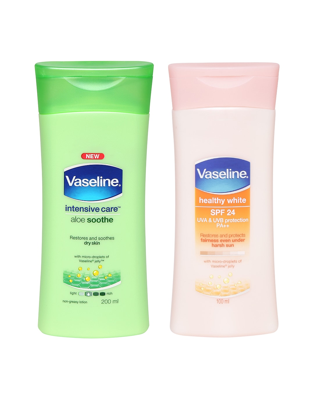 Vaseline Pack of 2 Body Lotions image