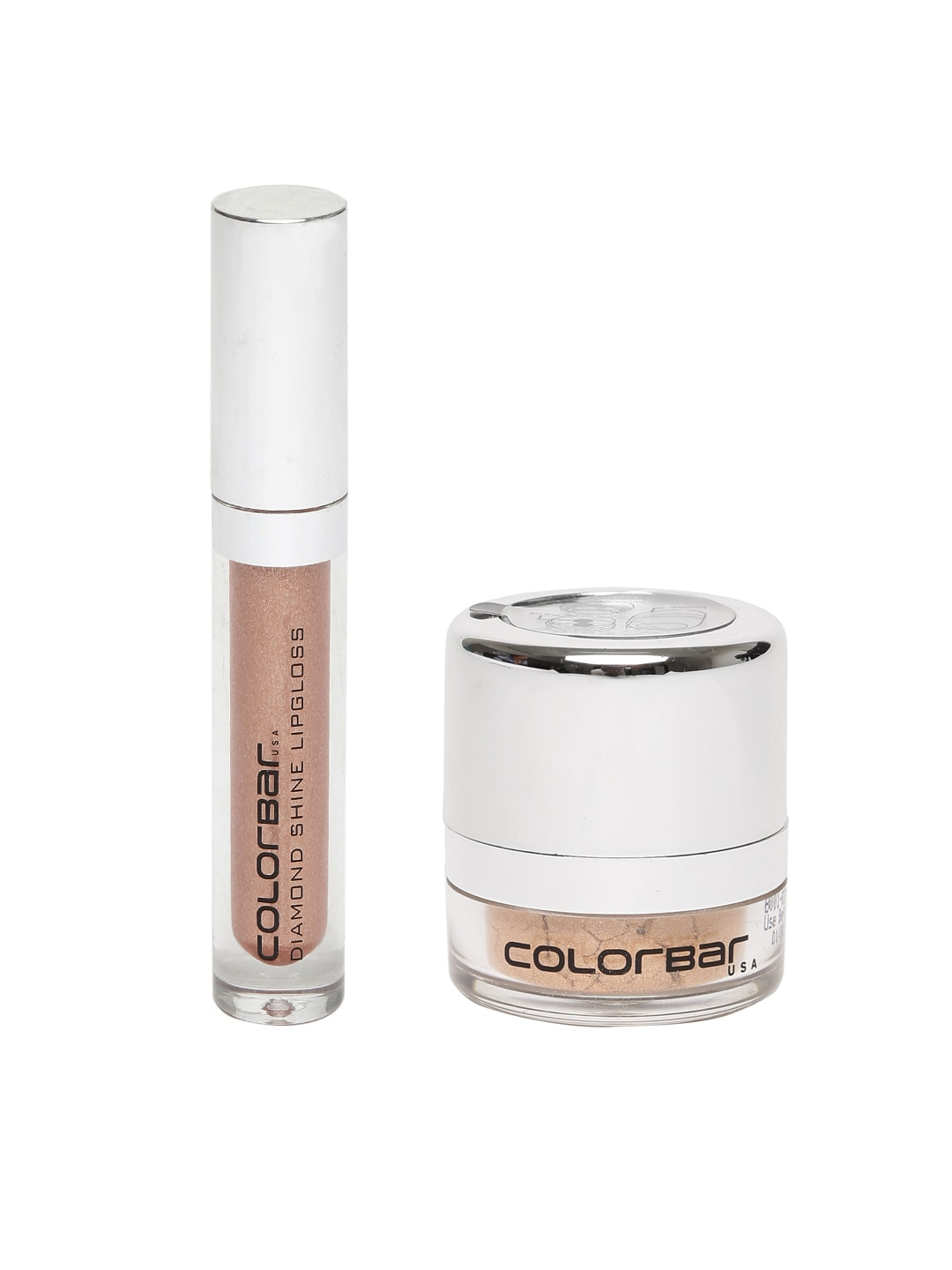 Colorbar Lip Gloss and Body Shimmer Combo image