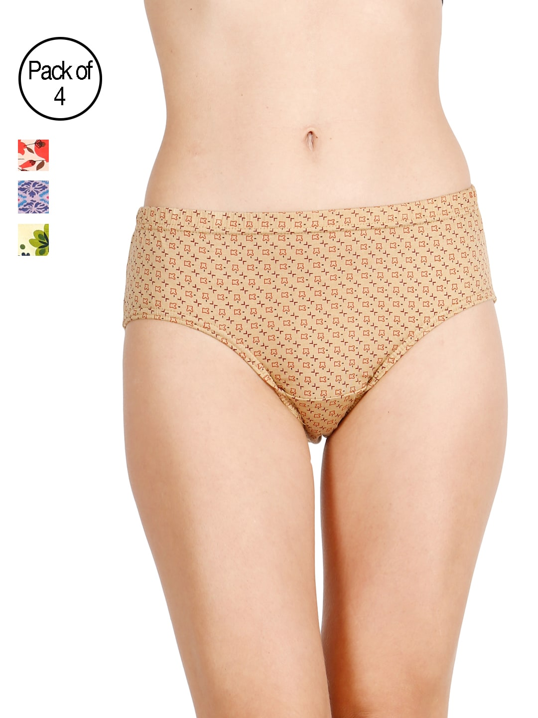 LUX Cozi for her Pack Of 4 Briefs LC4H-HIP102-ABCE image