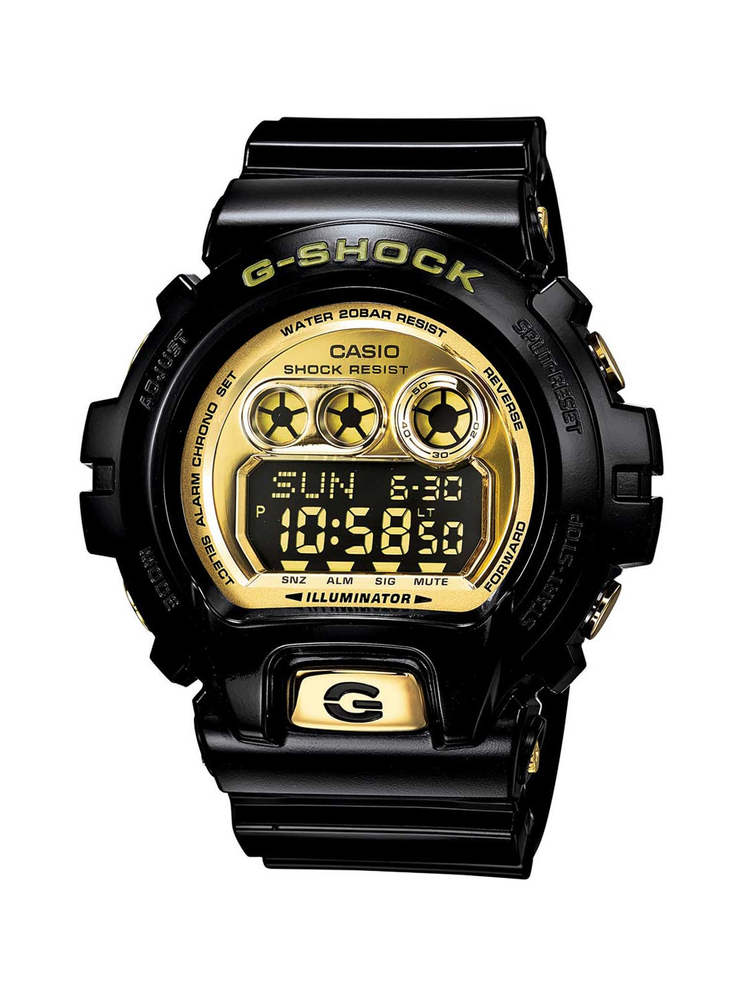 CASIO Men Gold-Toned Digital Watch GD-X6900FB-1DR image