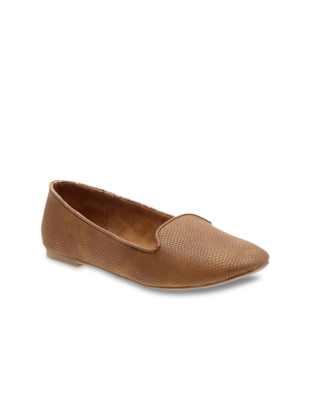Call It Spring Women Brown Flats image