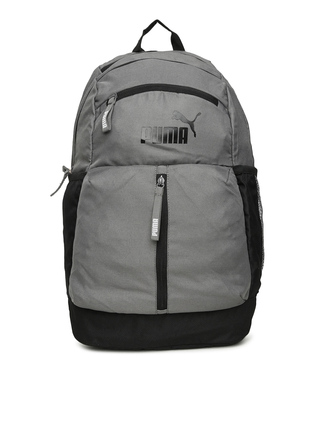 Buy Puma Unisex Grey Solid Maze Backpack At Best Price