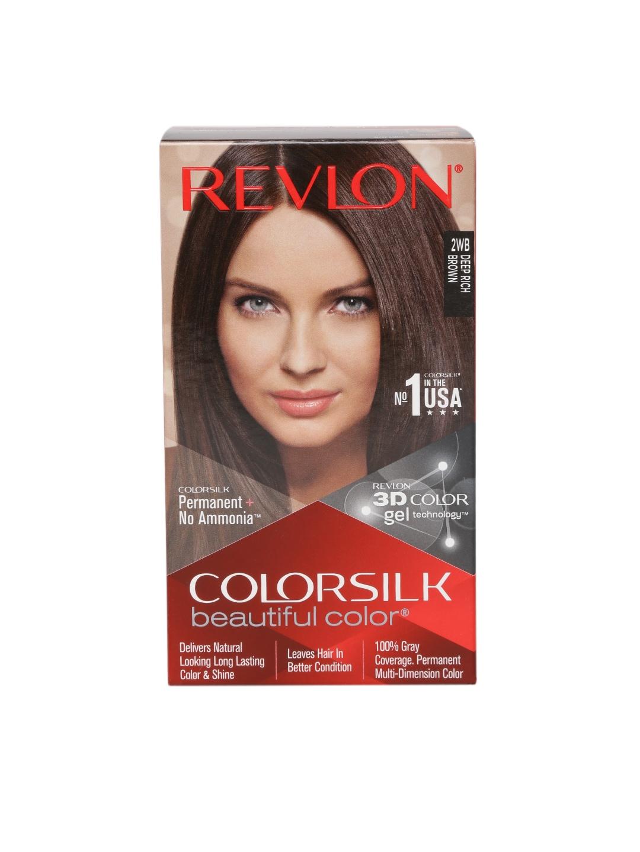 Revlon Colorsilk Unisex Beautiful Color Deep Rich Brown Hair Colour Kit image