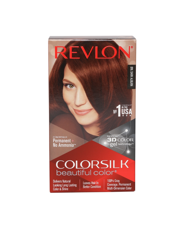 Revlon Colorsilk Unisex Beautiful Color Dark Auburn Hair Colour Kit image