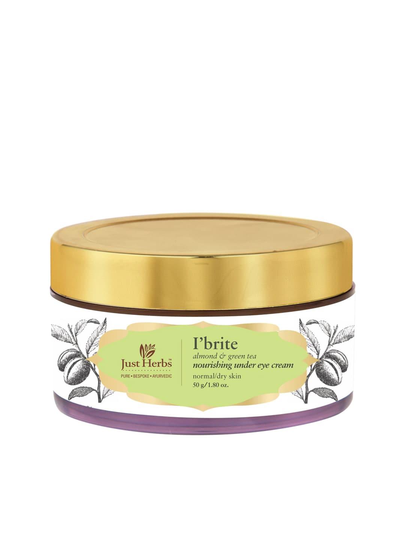 Just Herbs Unisex I'Brite Almond-Green Tea Nourishing Under Eye Cream 50 g image