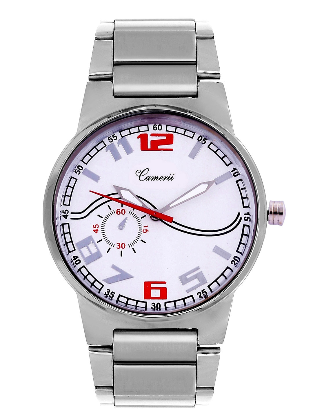 Camerii Men White Analogue Watch WM101_M image