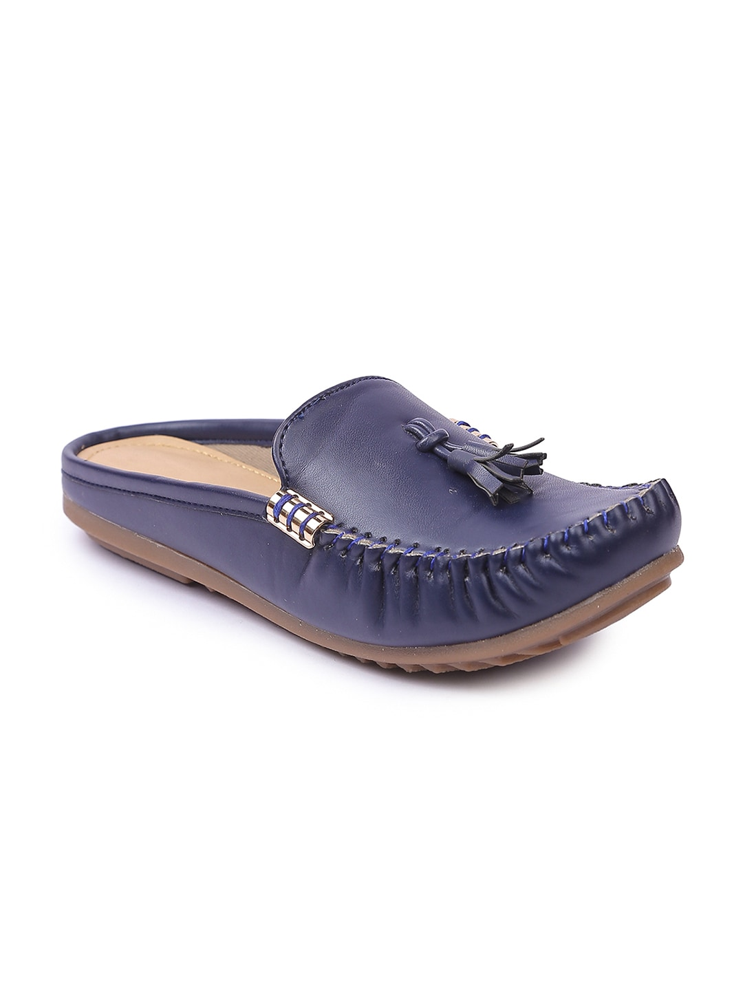 Lovely Chick Women Blue Mules image