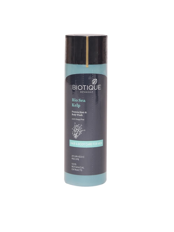 Biotique Men Bio Sea Kelp Protein Hair & Body Wash 120 ml image