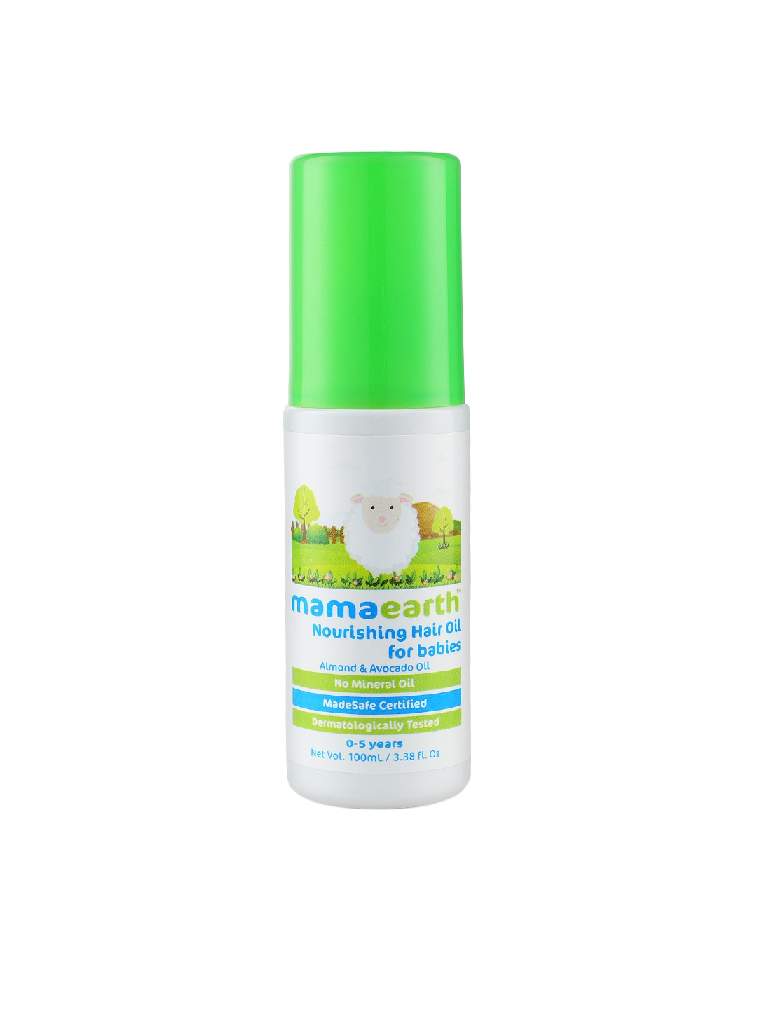 Mamaearth Nourishing Hair Oil For Babies image