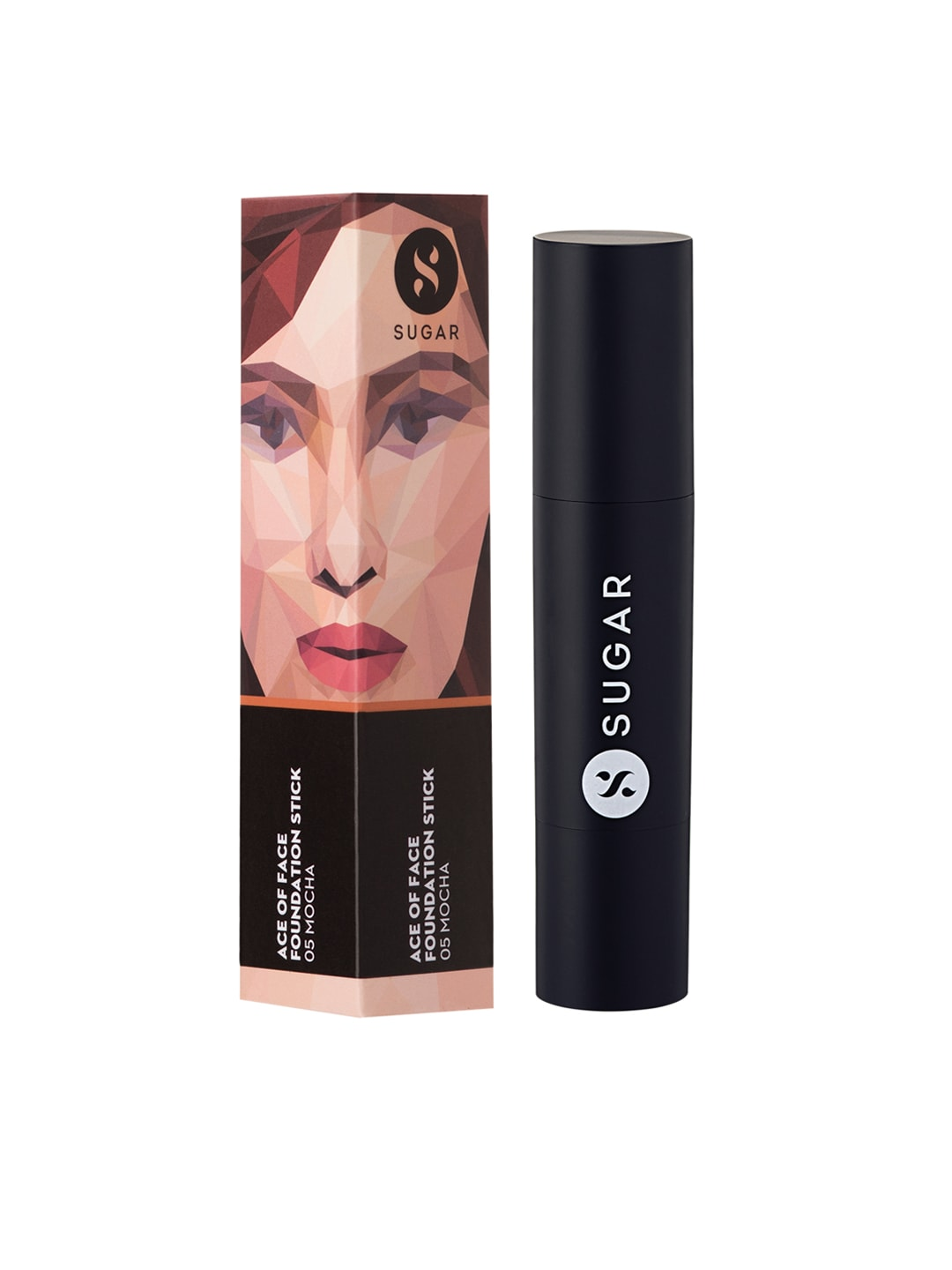 SUGAR Cosmetics Ace Of Face Foundation Stick 05 Mocha (Medium Tan) image