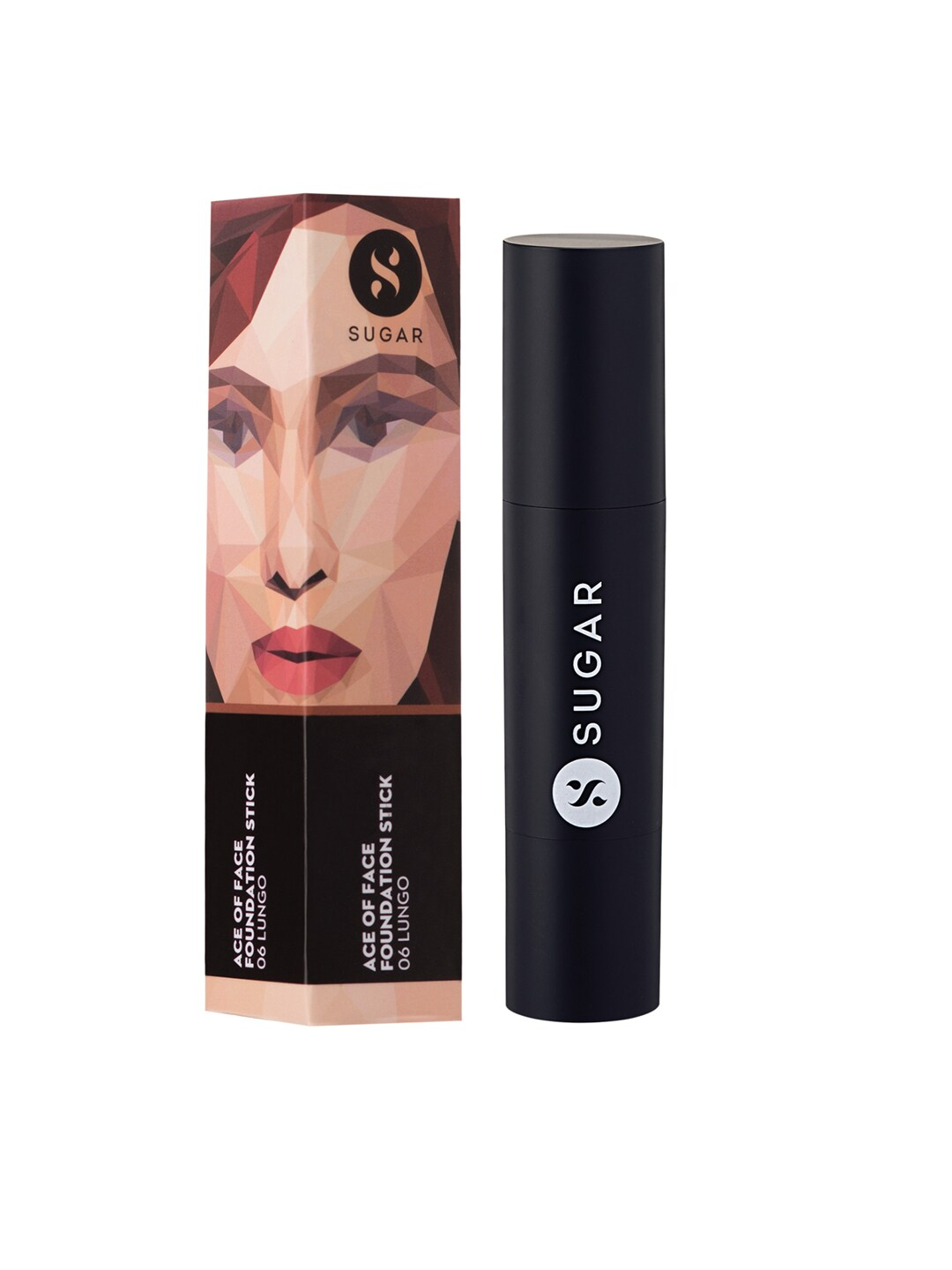 SUGAR Cosmetics Ace Of Face Foundation Stick 06 Lungo (Medium Deep) image