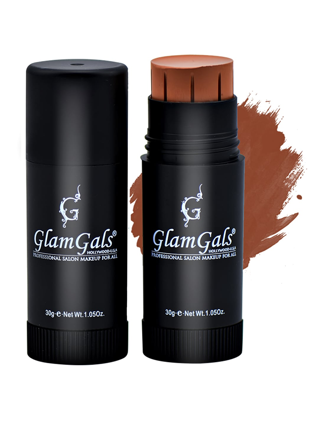 GlamGals Matte Finish Stick Foundation 30 ml image