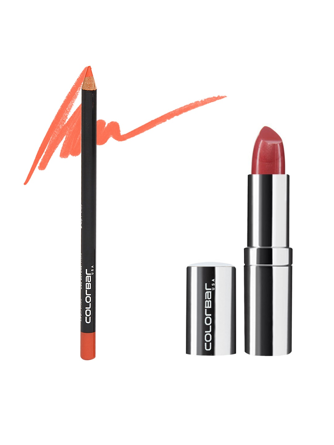 Colorbar Lip Liner & Lipstick Set image