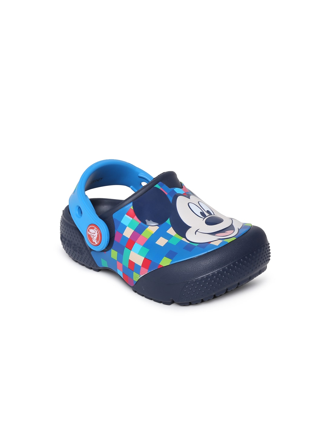 Crocs Unisex Blue FunLab Mickey Printed Clogs image