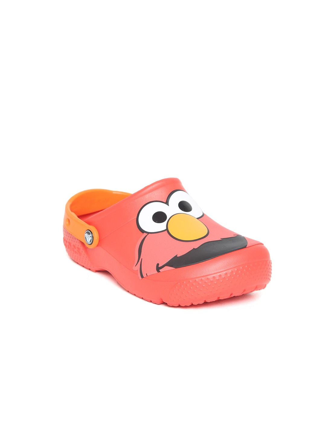 Crocs Kids Red Elmo Print Clogs image