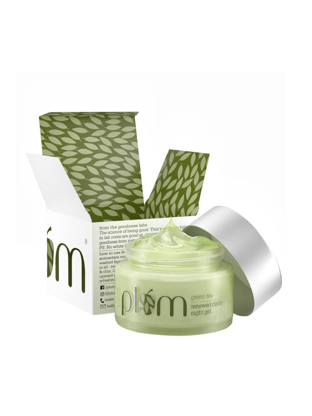 Plum Face Moisturizing Night Cream for Oily Skin image
