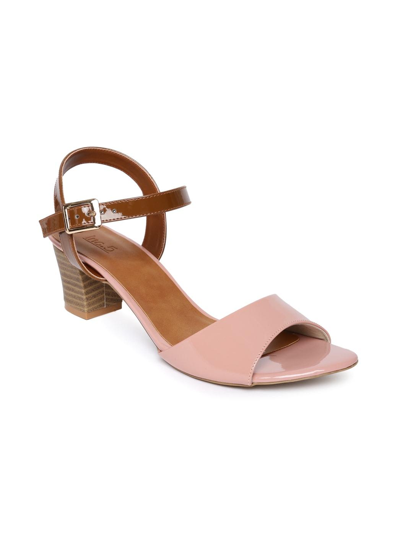 Inc 5 Women Pink Colourblocked Sandals image
