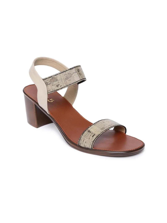 Inc 5 Women Beige Printed Sandals image