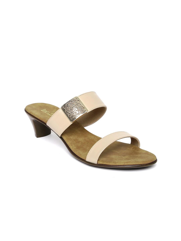 Inc 5 Women Beige Solid Sandals image