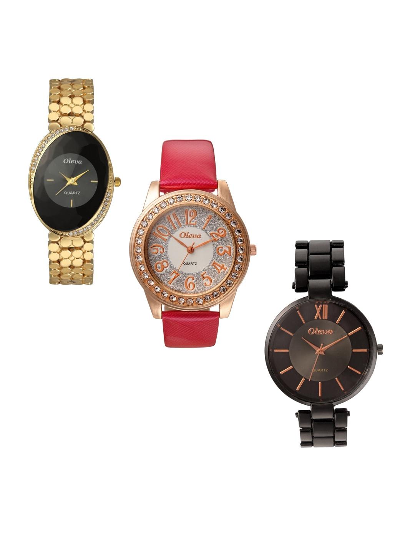 Oleva Women Pack Of 3 Watches OPC-3-4-M image