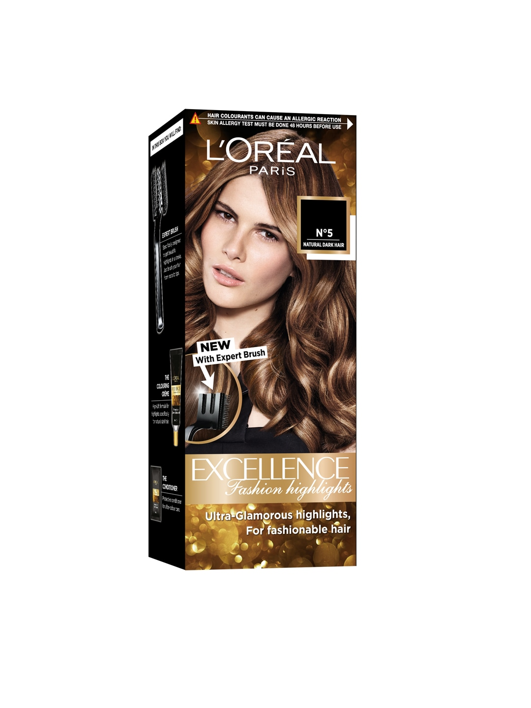 LOreal Women Excellence Fashion Highlights Honey Blonde Hair Color image