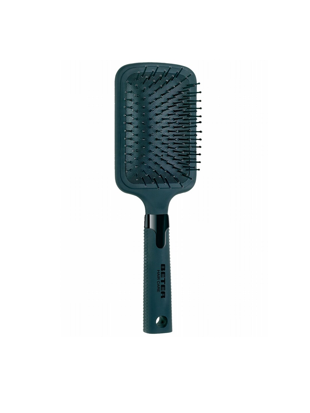 Beter Women Black Paddle Cushion Big Hair Brush image