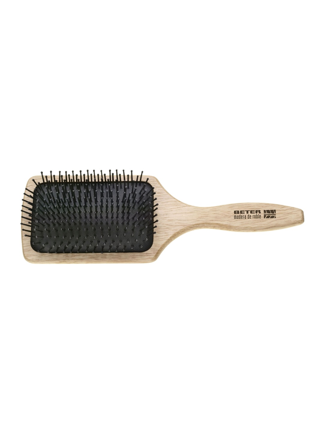 Beter Beige Nylon Pins Cushion Paddle Hair Brush image