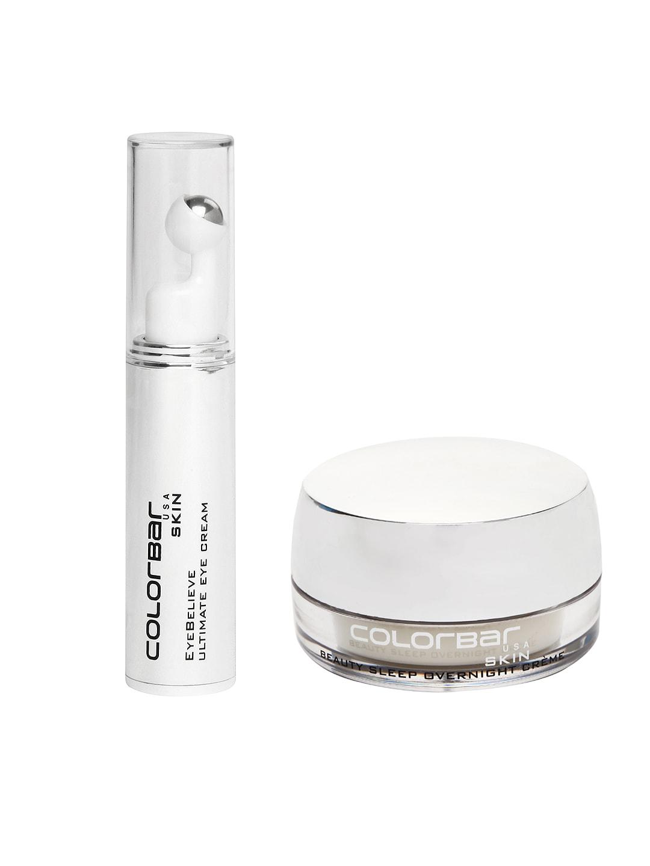 Colorbar Skin Beauty Sleep Overnight Cream & Ultimate Eye Cream image