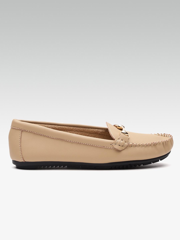 Van Heusen Women Beige Loafers image