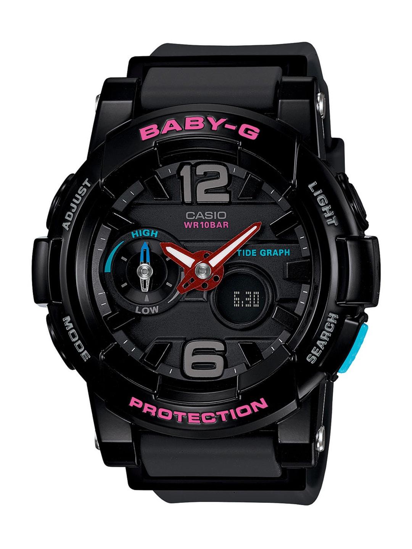 Casio Baby-G Women Black Analogue-Digital Watches (BX028) BGA-180-1BDR image
