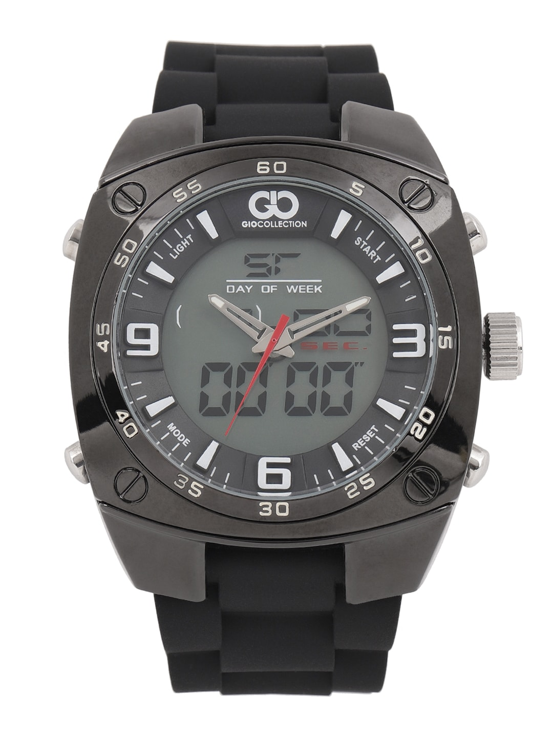 GIO COLLECTION Men Grey Analogue and Digital Watch GLED-2046AX image