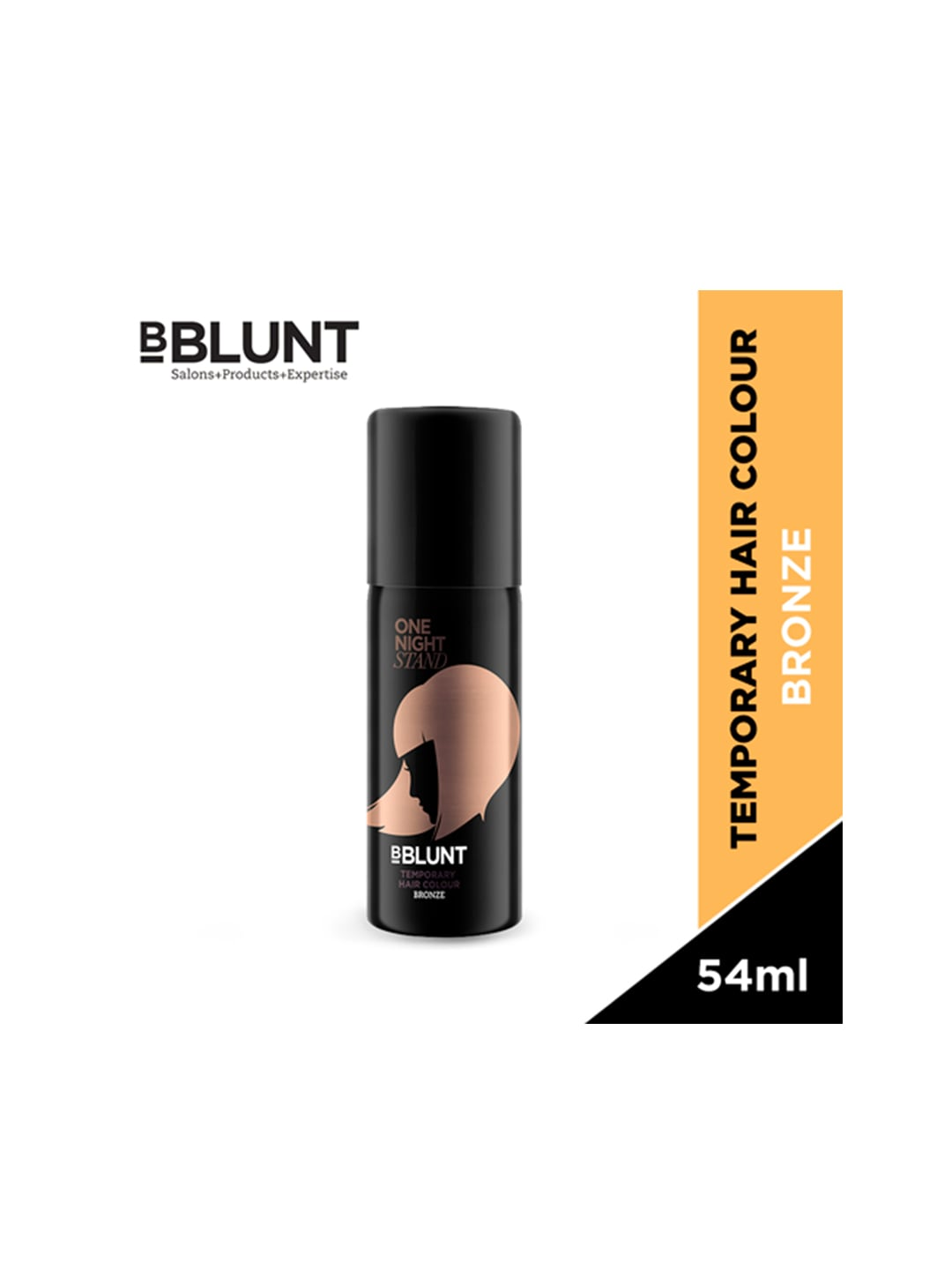 BBLUNT Unisex One Night Stand Bronze-Toned Temporary Hair Colour image