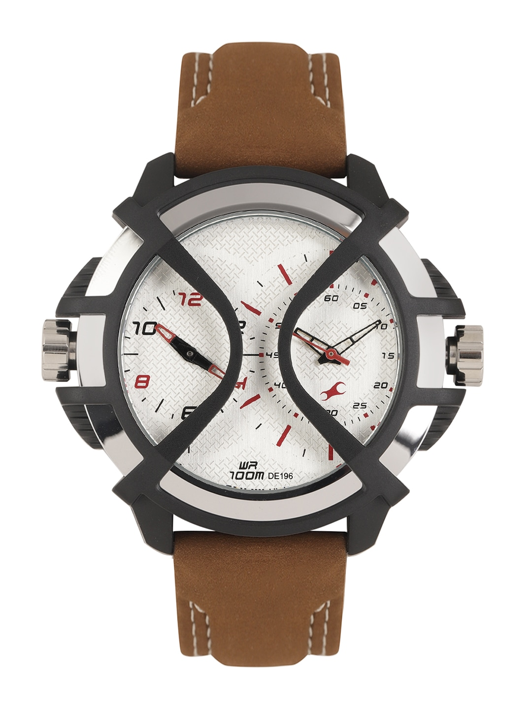 Fastrack NF38016PL02 Extreme Hybrid Men's Watch image.