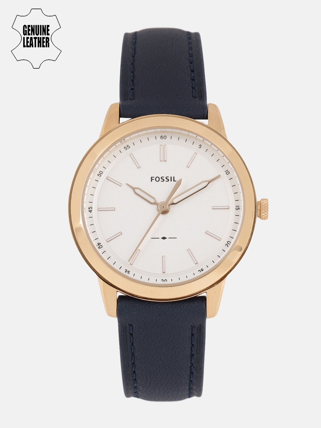Fossil Women White Analogue Watch ES4299I_OR image