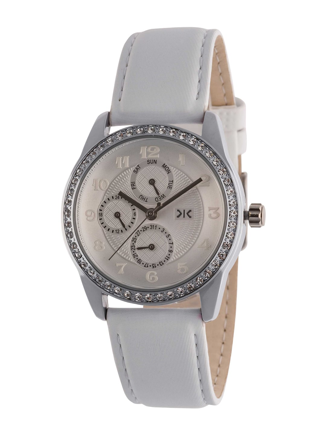 Killer Women White Analogue Watch KLW521A image