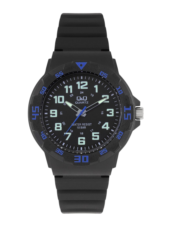 Q&Q Unisex Black Analogue Watch VR18J007Y image