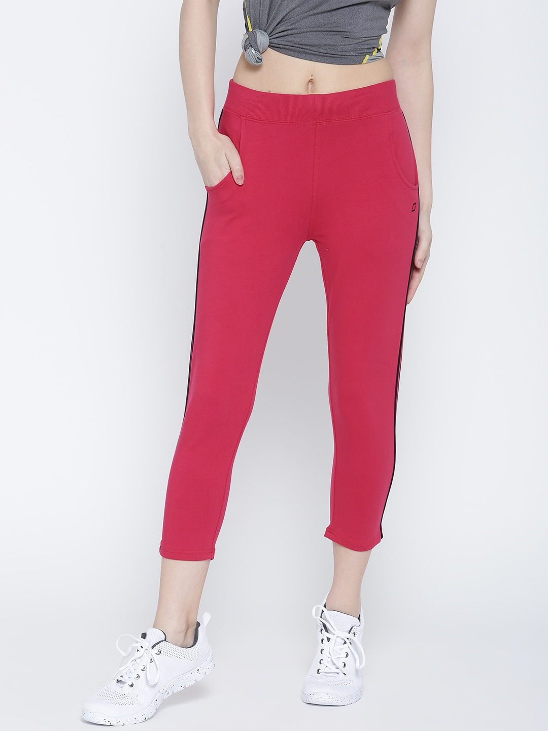SDL by Sweet Dreams Pink Active Capris image